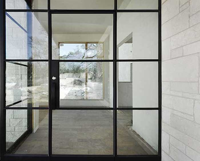 Modern steel frame windows simplequietmodern for Steel windows